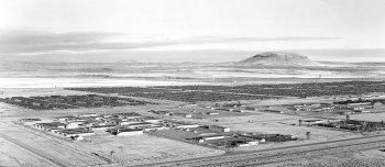 Tule Lake and Abalone Mountain
